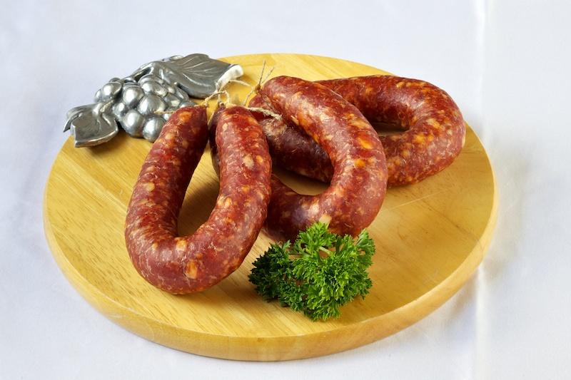 luftgetrocknete–bauernwurst
